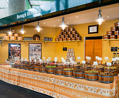 Borough olives stall
